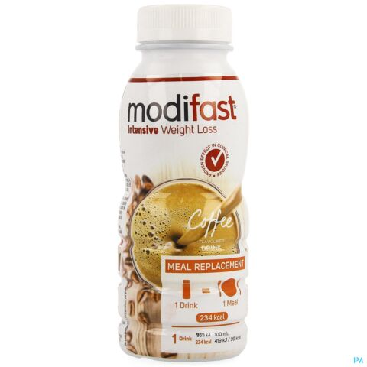 MODIFAST COFFEE FLAVOURED DRINK 236ML