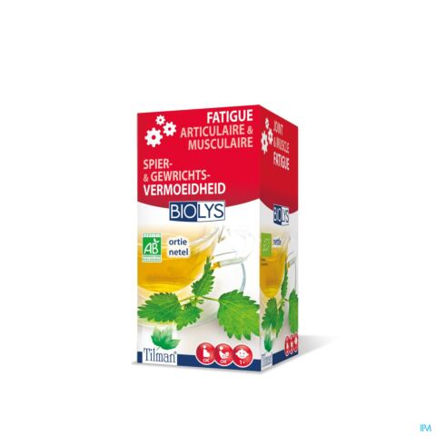 Biolys Fatigue Articulaire & Musculaire Tisane Ortie 20 Infusions