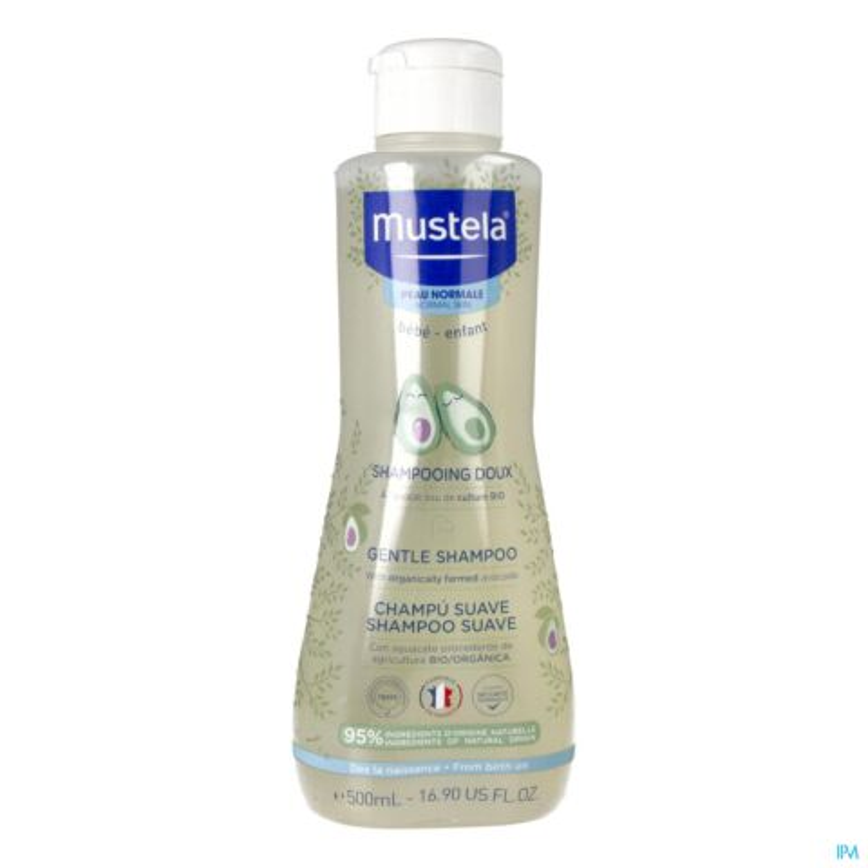 Mustela Shampooing Doux Peau Normale Flacon Capsule 500ml