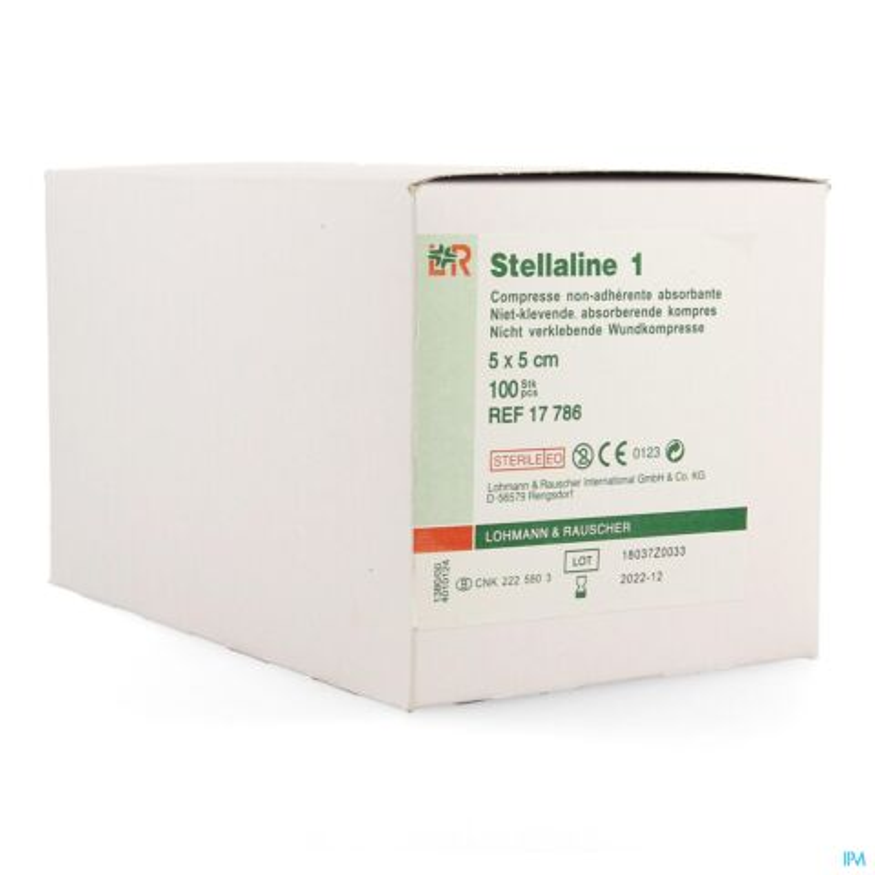 Stellaline 1 Comp Ster 5,0x 5,0cm 100 17786