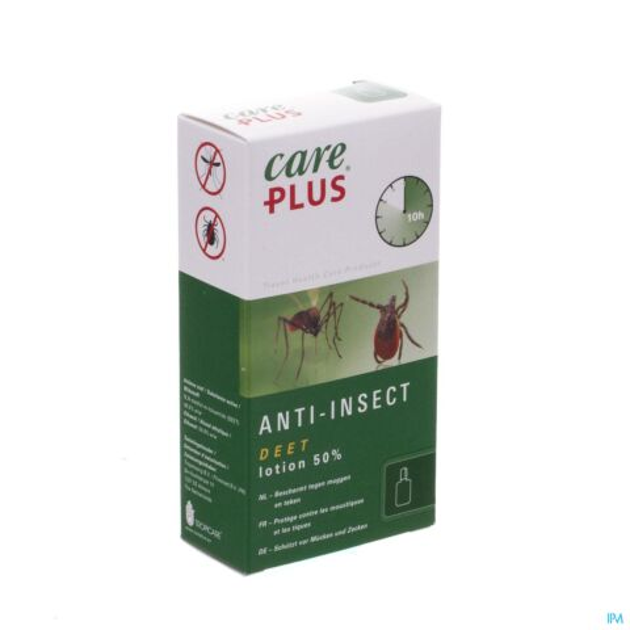 Care Plus DEET 50% Lotion Anti-Insectes Flacon 50ml