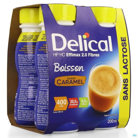 Delical Effimax 2 0 Caramel 4x200ml