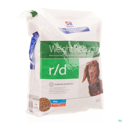 Hills Prescrip Diet Canine Rd Mini 6kg 7749m