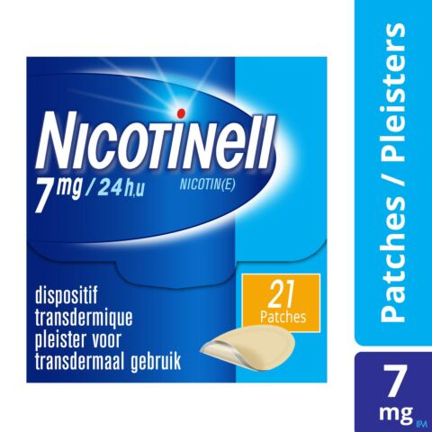 Nicotinell TTS 7mg 21 Patchs