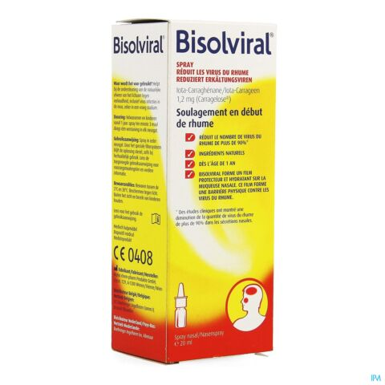 Bisolviral Spray Nasal 20ml