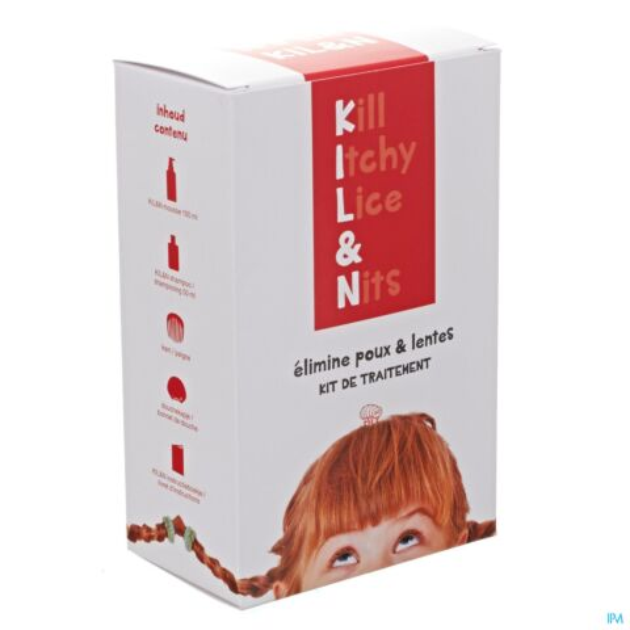 KILL&N MOUSSE KIT A/POUX-LENTES 100ML