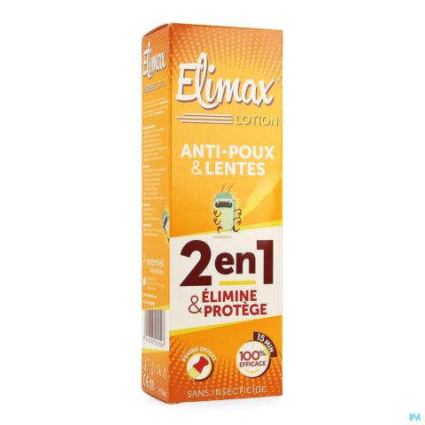 Elimax Lotion Anti-Poux & Lentes 100ml