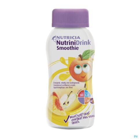 Nutricia NutriniDrink Smoothie Fruits d'Eté Bouteille 200ml