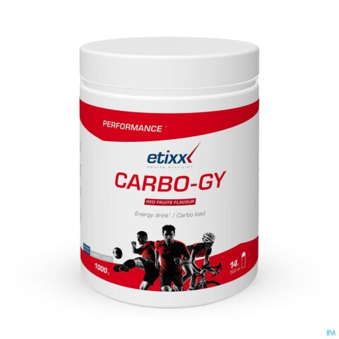 Etixx Performance Carbo-Gy Fruits Rouges 1000g