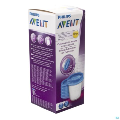 AVENT VIA NATURAL POTS CONSEVATION 180ML