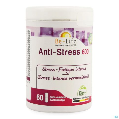Be-Life Anti-Stress 600 Fatigue Intense 60 Gélules