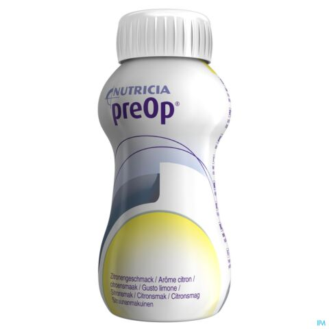 PREOP DRINK CITRON BOUTEILLE 4X200ML 571499