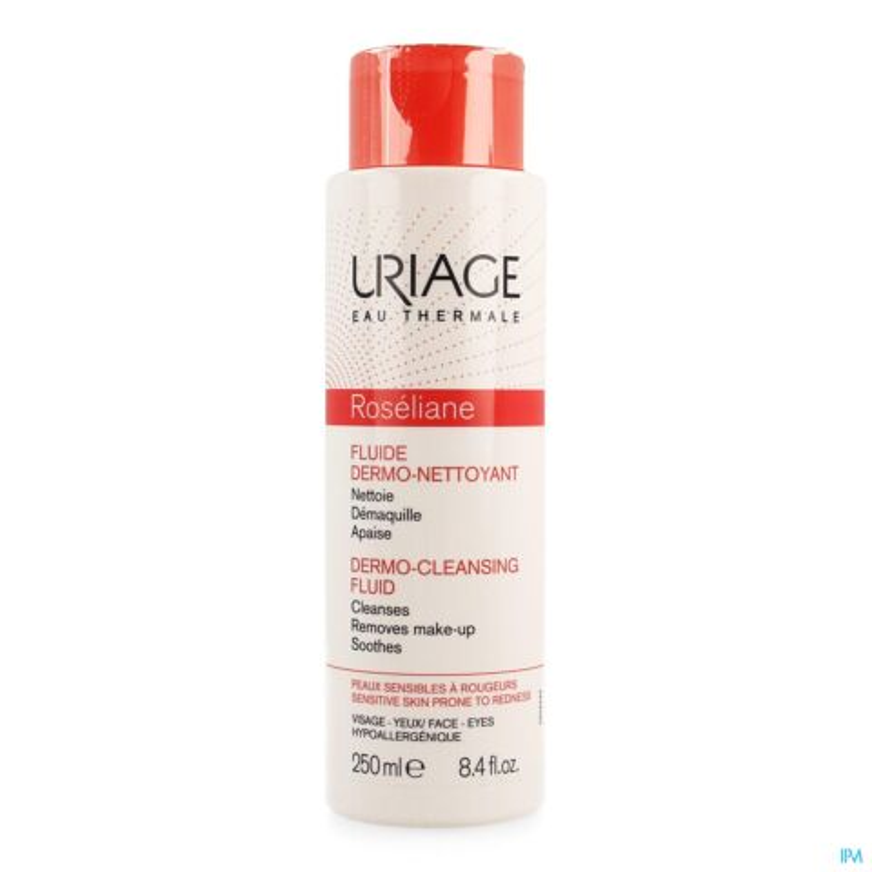 Uriage Roséliane Fluide Dermo-Nettoyant Flacon 250ml