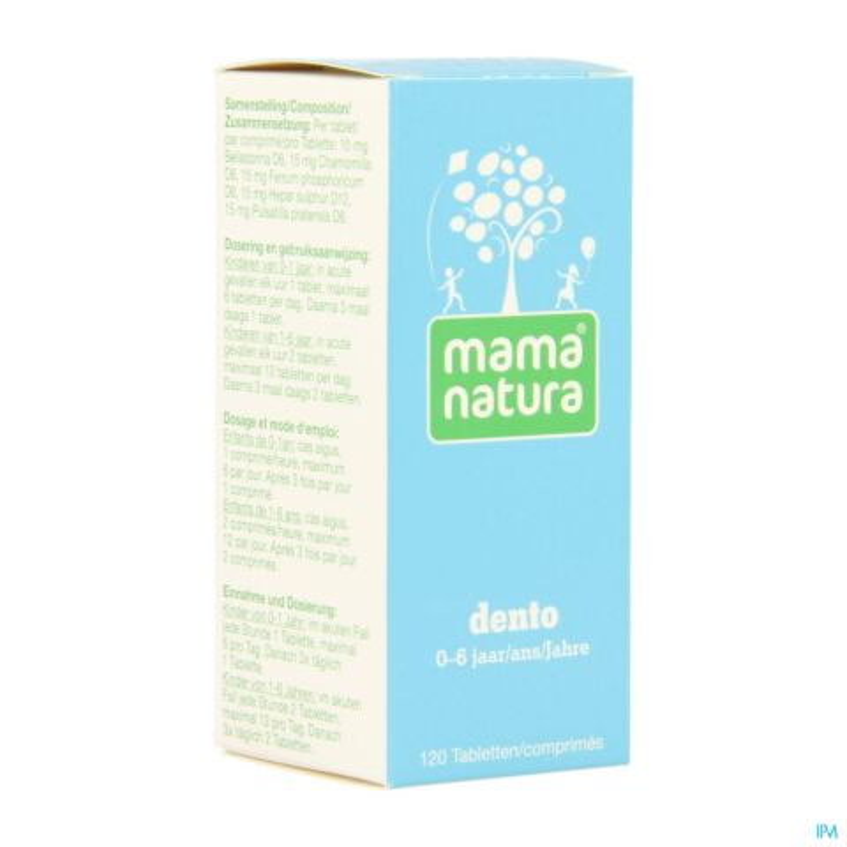Mama Natura Dento 120 Comprimés