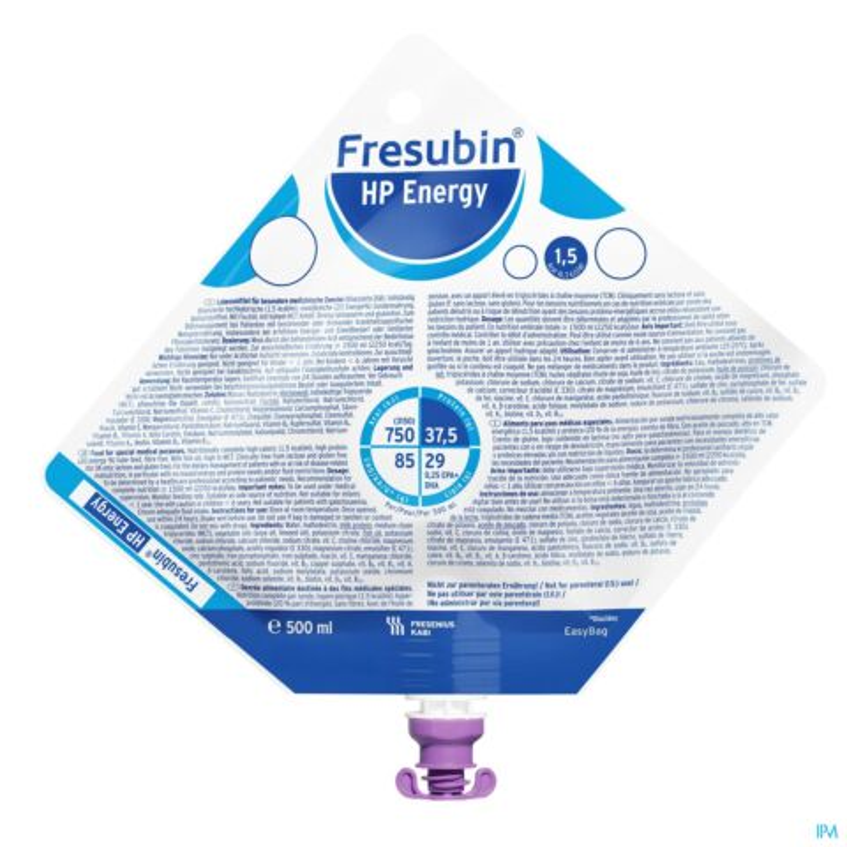 Fresubin Hp Energy Easybag 500ml 7348221