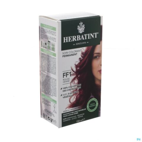 HERBATINT FLASH FASHION FF1 ROUGE HENNE 140ML