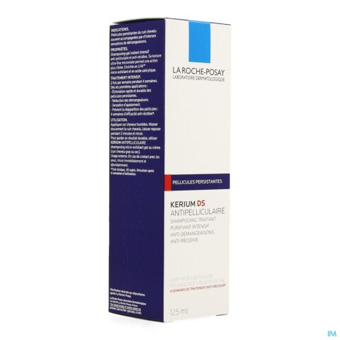 La Roche-Posay Kerium DS Shampooing Antipelliculaire Intensif Flacon 125ml