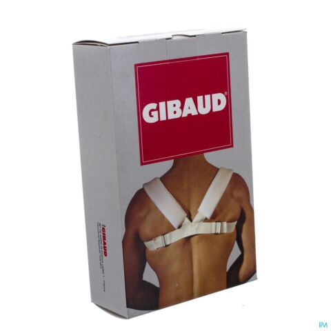 GIBAUD CLAVICULE BLOCAGE BLANC 100-120 T3 6209