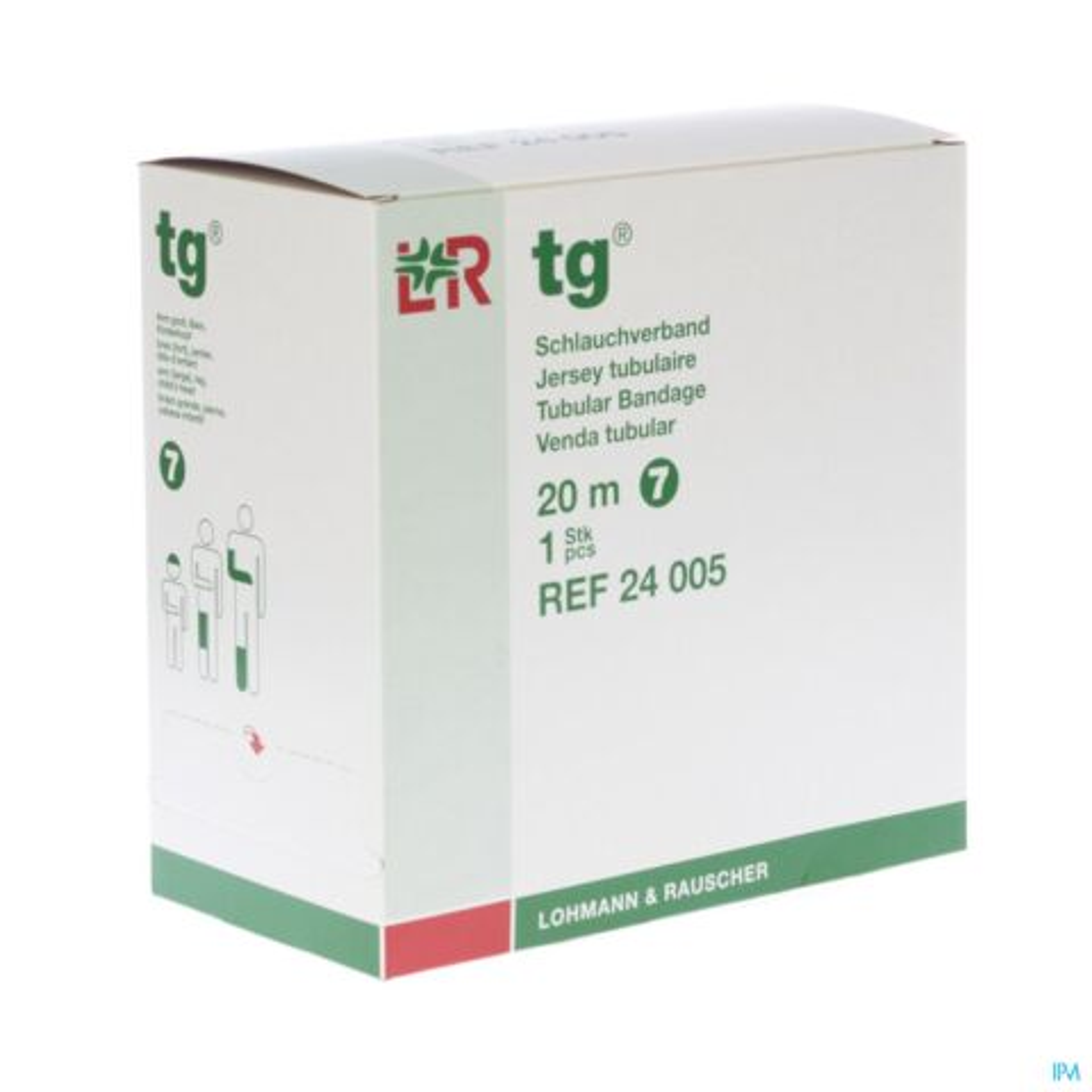TUBEGAUZ BANDE TUBULAIRE 20M T7 24005