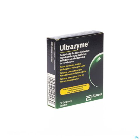 ULTRAZYME DEPROTEINISATION COMP 10 4493