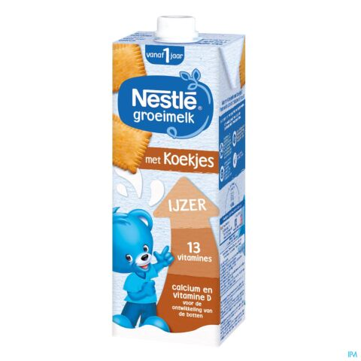 Nestle Lait Croissance 1+ Biscuite Tetra 1l