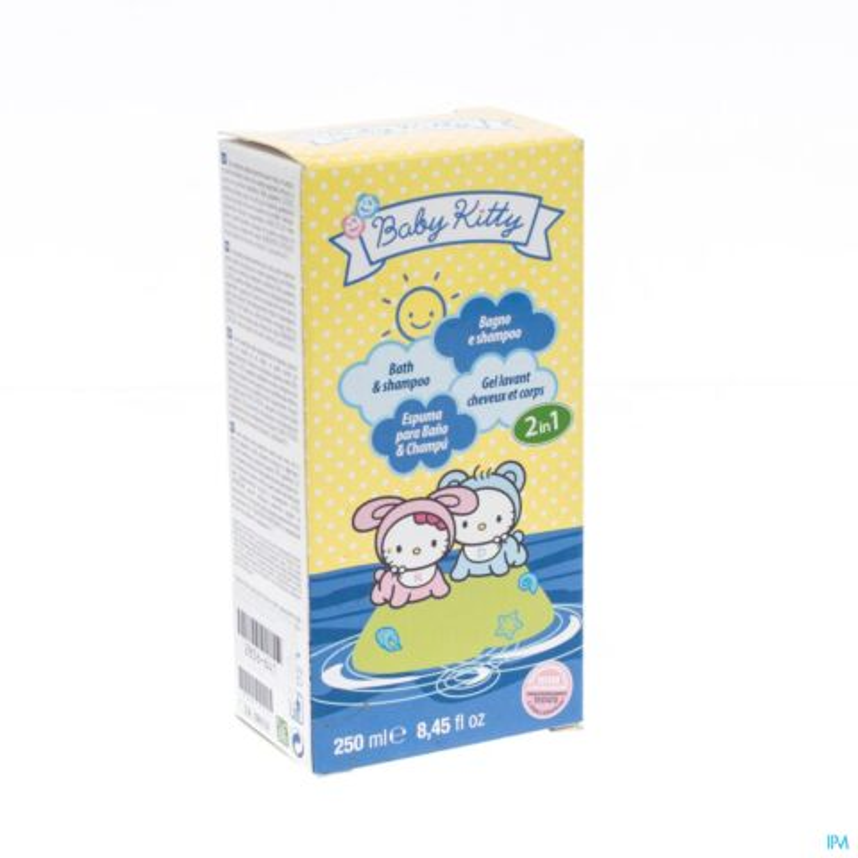 Hello Kitty Baby 2en1 Bain Et Sh 250ml