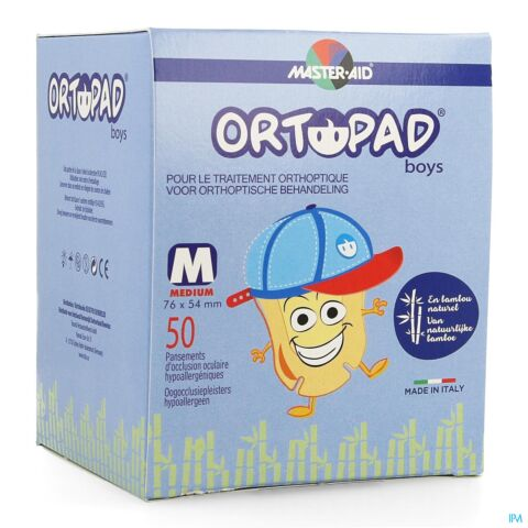 Ortopad For Boys Medium Cp Oculaire 50 73322