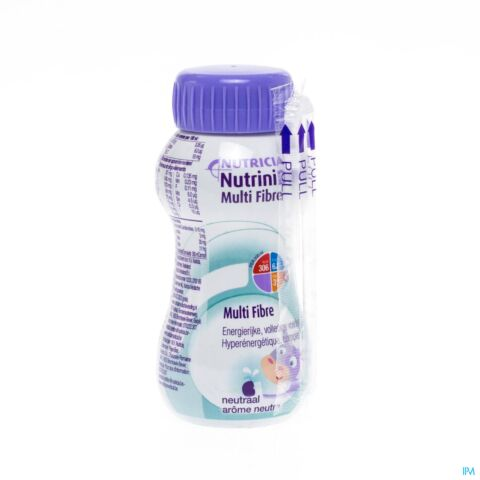 NUTRINIDRINK MULTI FIBRE NEUTRE FL 200ML