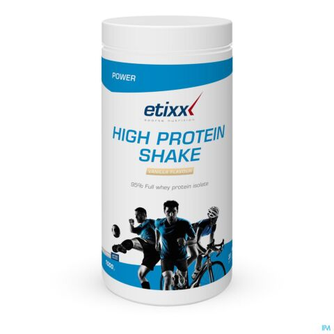 Etixx Power High Protein Shake Vanille 1000g