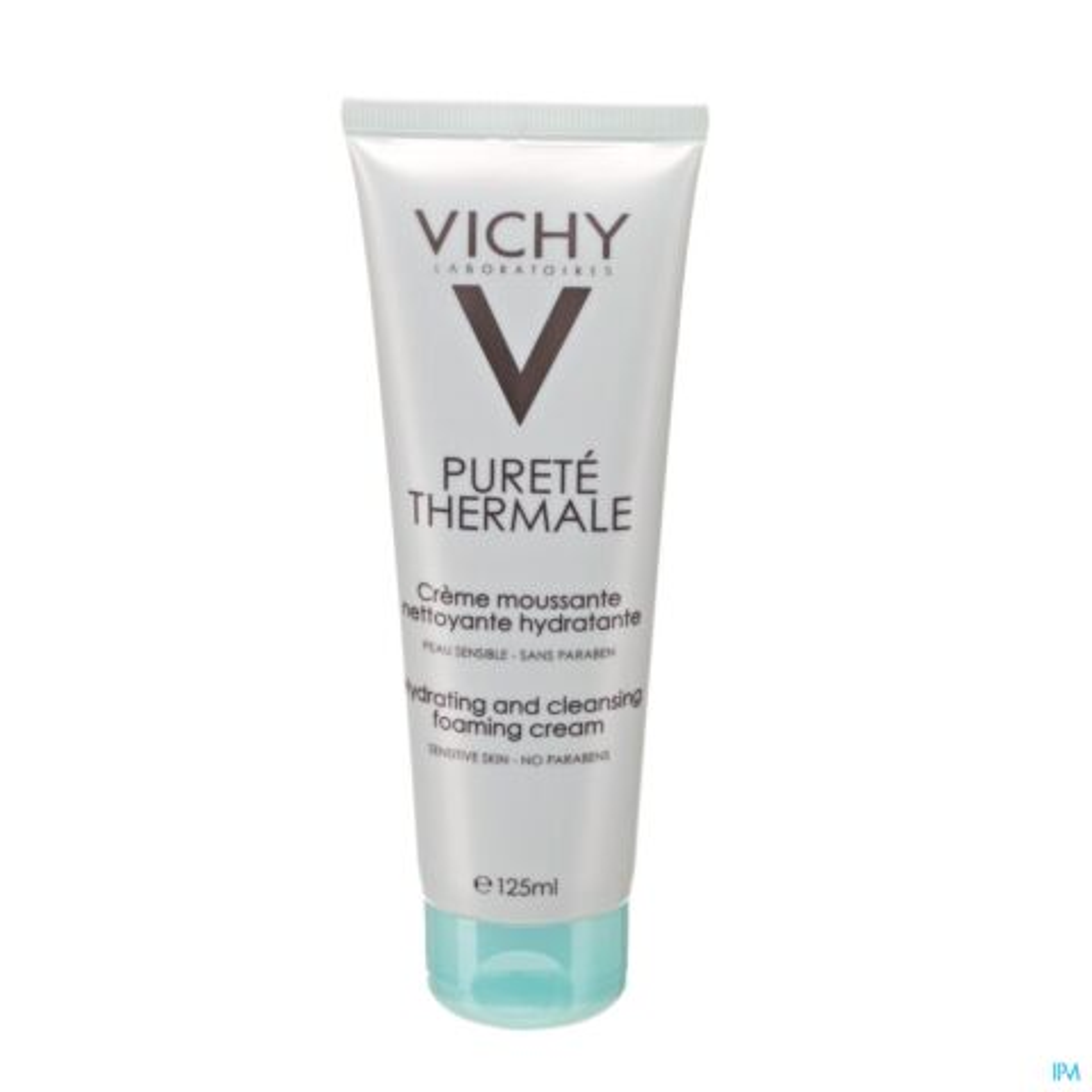 Vichy Pureté Thermale Crème Moussante Nettoyante Hydratante Tube 125ml