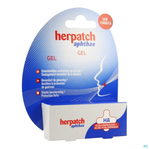 Herpatch Gel Aphtes Tube 10ml