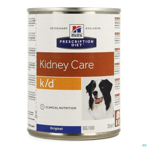 Hills Prescrip Diet Canine Kd 370g 8010zz