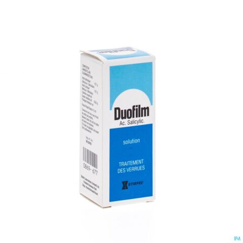 Duofilm Verrues Solution pour Application Cutanée Flacon 15ml