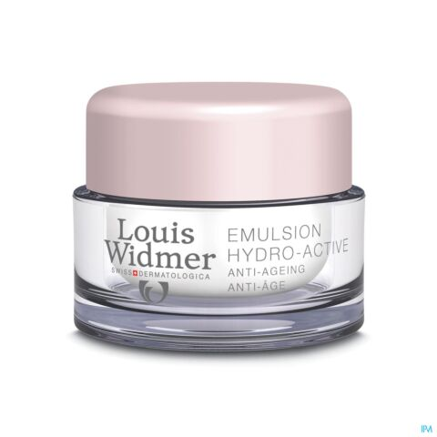 Louis Widmer Emulsion Hydro-Active Sans Parfum Pot 50ml