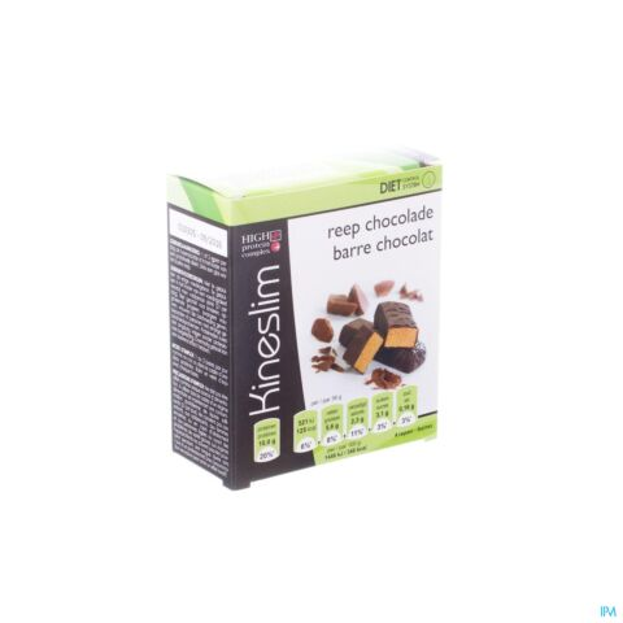 Kineslim Barre Chocolat 4 Pièces de 36g