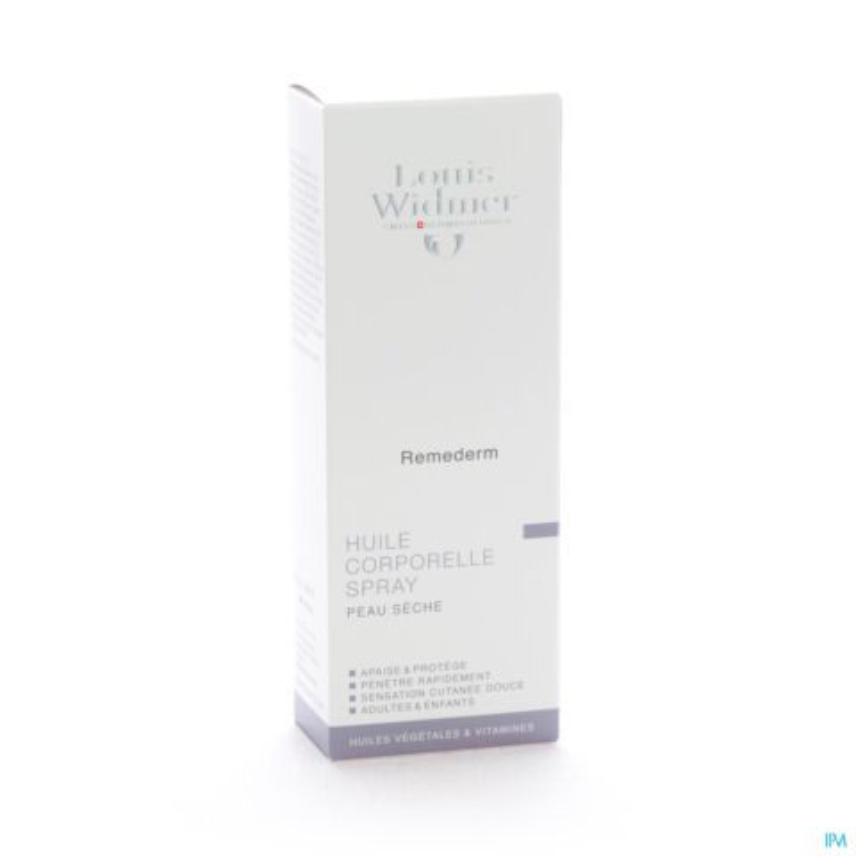 Louis Widmer Remederm Huile Corporelle Parfumée Spray 150ml