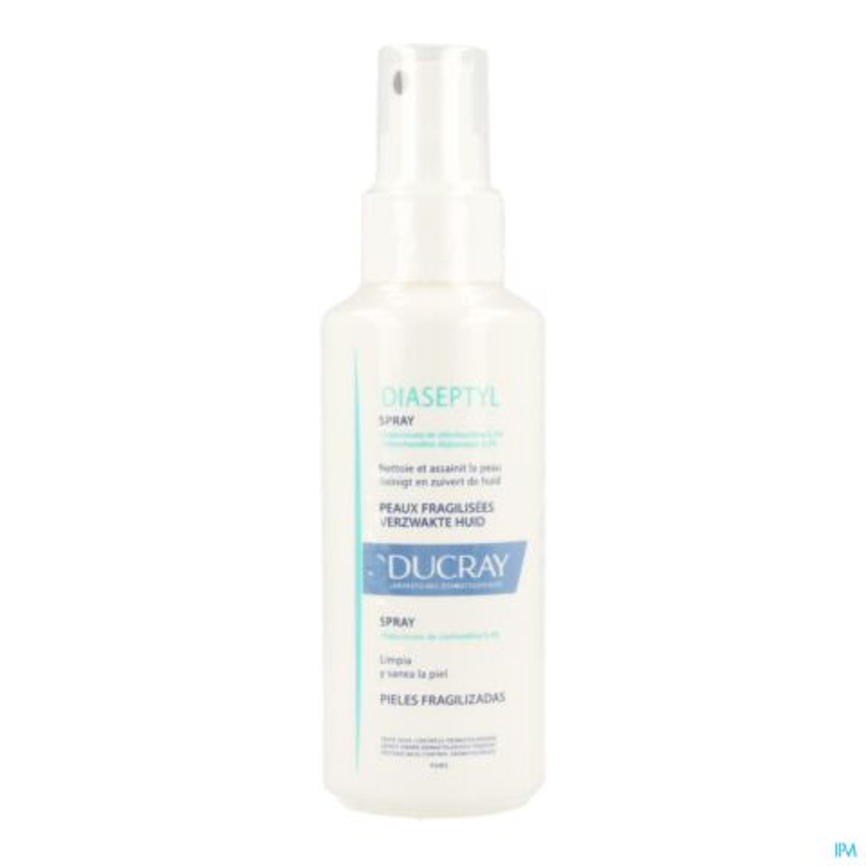 Ducray Diaseptyl Nettoyant Assainissant Peaux Fragilisées Spray 125ml