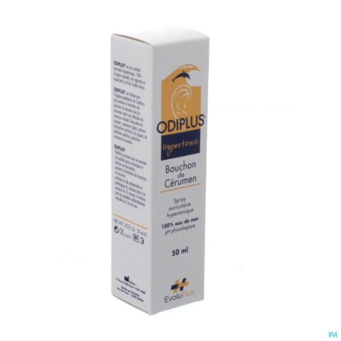 Odiplus hypertonic auriculaire spray 50ml