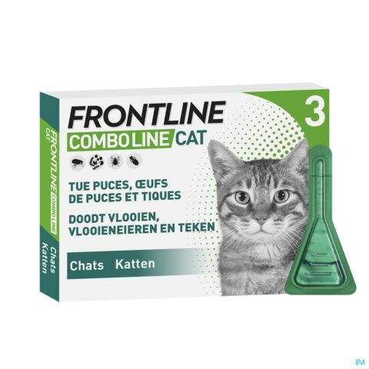 FRONTLINE COMBO LINE CAT 3X0,5 ML