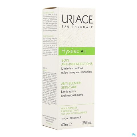 Uriage Hyséac A.I. Soin Anti-Imperfections Tube 40ml