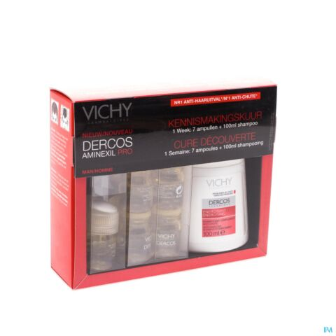 VICHY DERCOS AMINEXIL PRO KIT DISCOVERY HOMME
