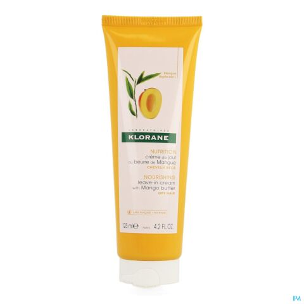 Klorane Nutrition Crème de Jour au Beurre de Mangue Tube 125ml