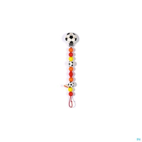 Heimess Attache Sucette Bois Football H5014