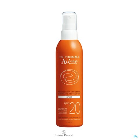 Avène Protection Solaire Spray IP20 200ml