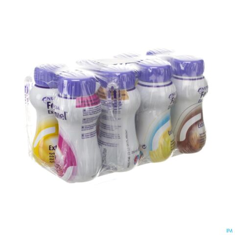 Fortimel Extra Mixed Multipack Bouteille 8x200ml