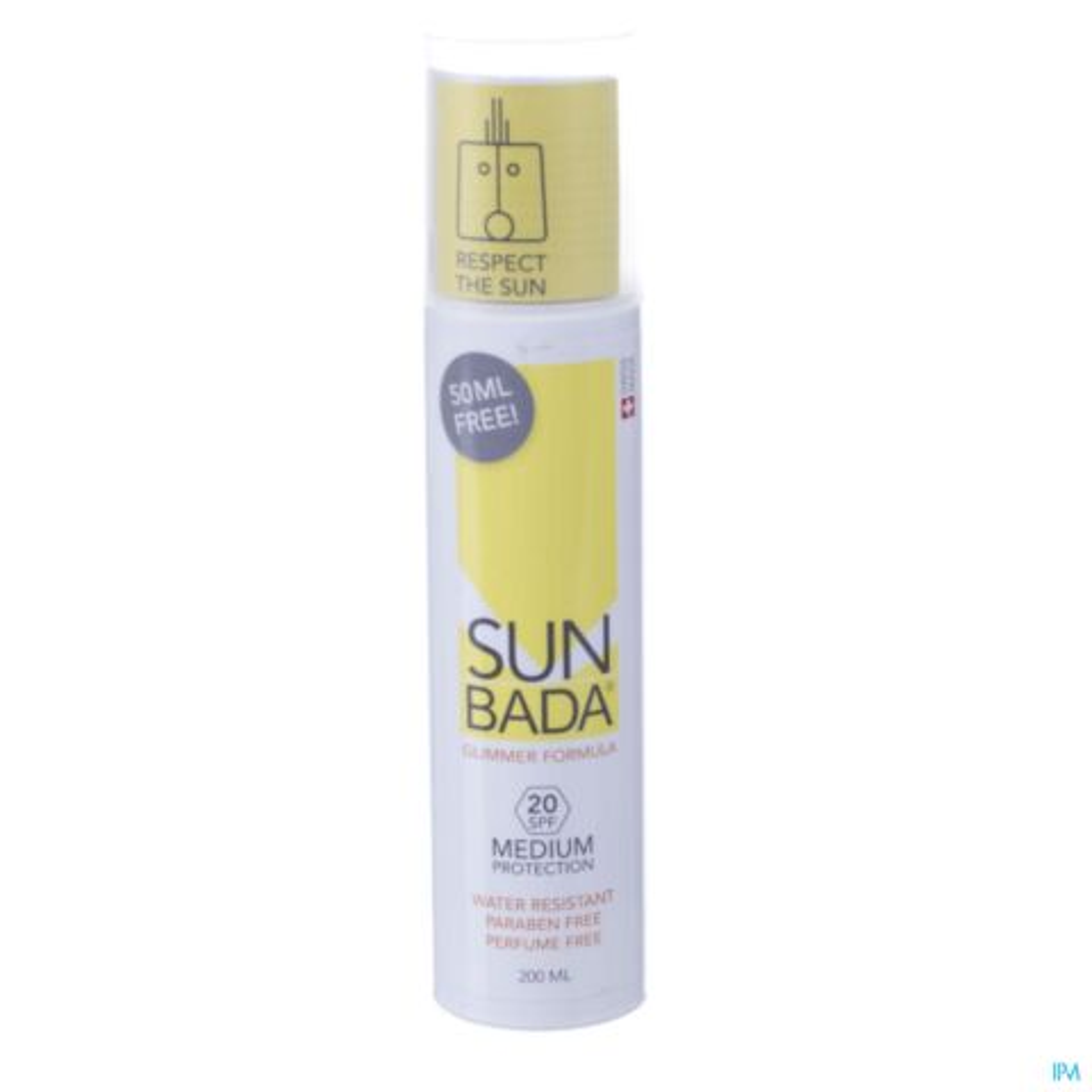 Sunbada Medium Protection IP20 200ml