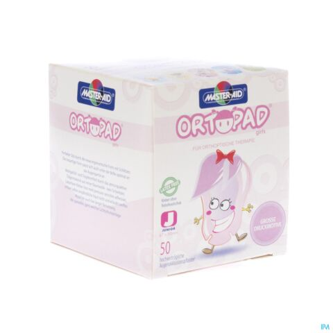 Ortopad Junior For Girls Compresse Ocul 50 73221