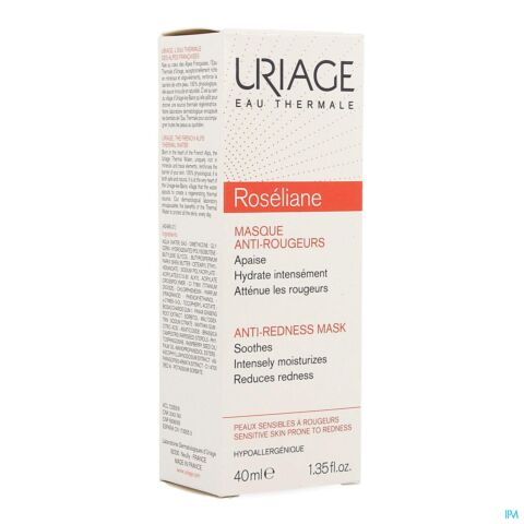 Uriage Roséliane Masque Anti-Rougeurs Tube 40ml