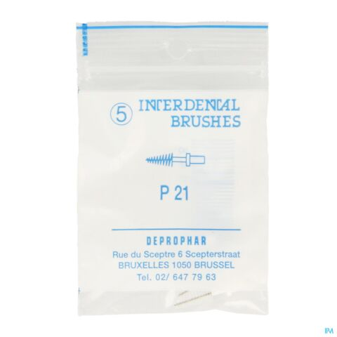 Proximal Conical P21 Brossette Interdentaire 5 Pièces