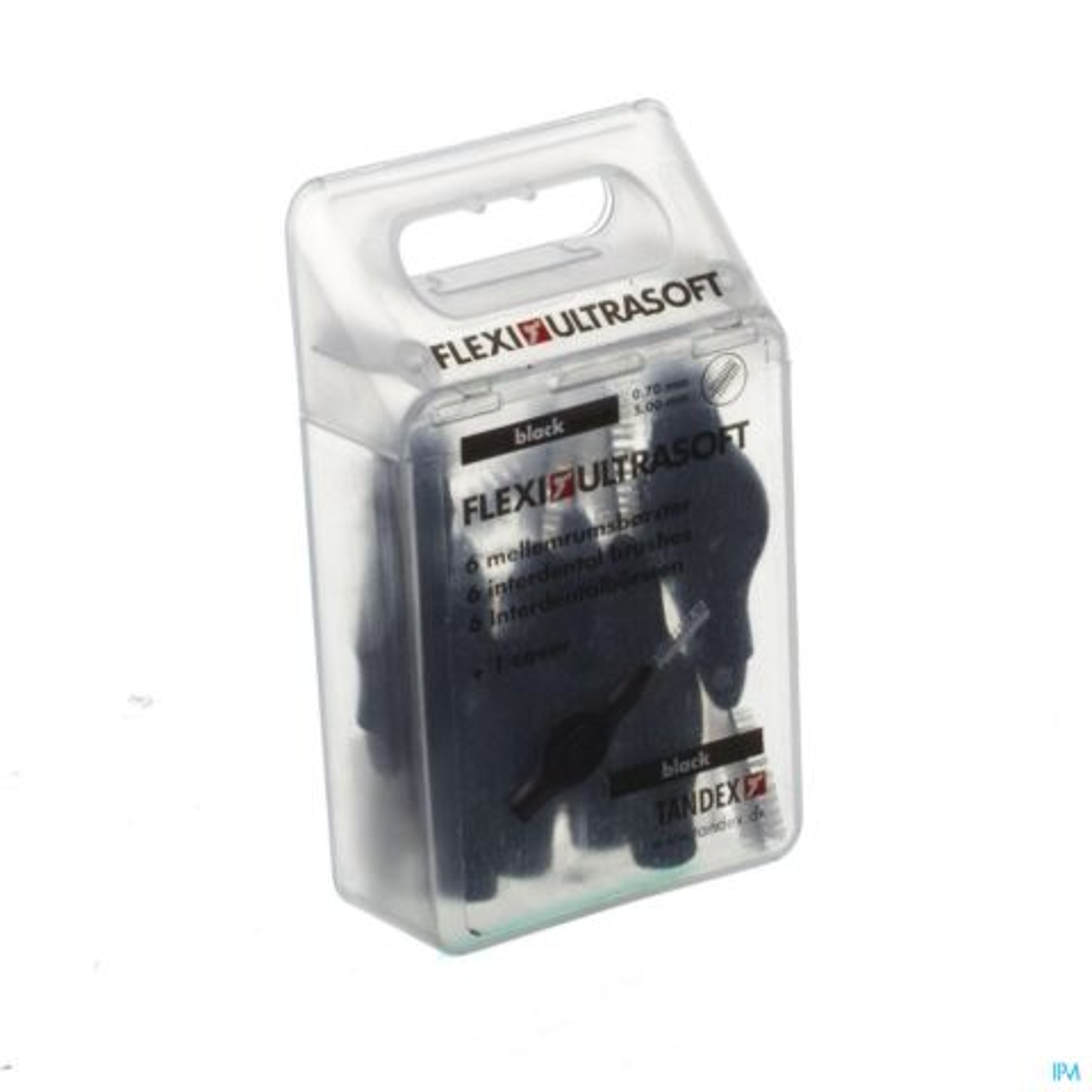 Tandex Flexi Ultra Soft Brossette Interdentaire Black 6 Pièces